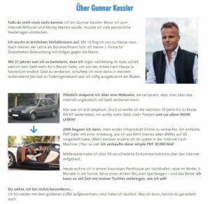 Gunnar Kesslers Geschichte