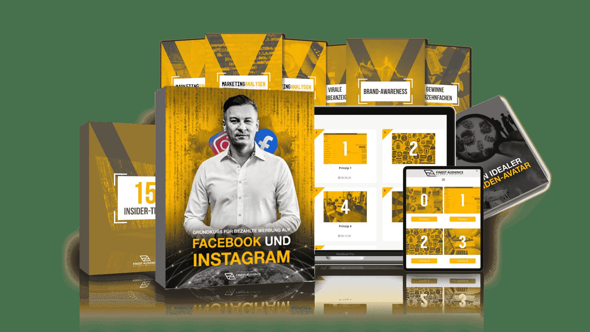 Grundkurs für bezahlte Werbung auf Facebook und Instagram